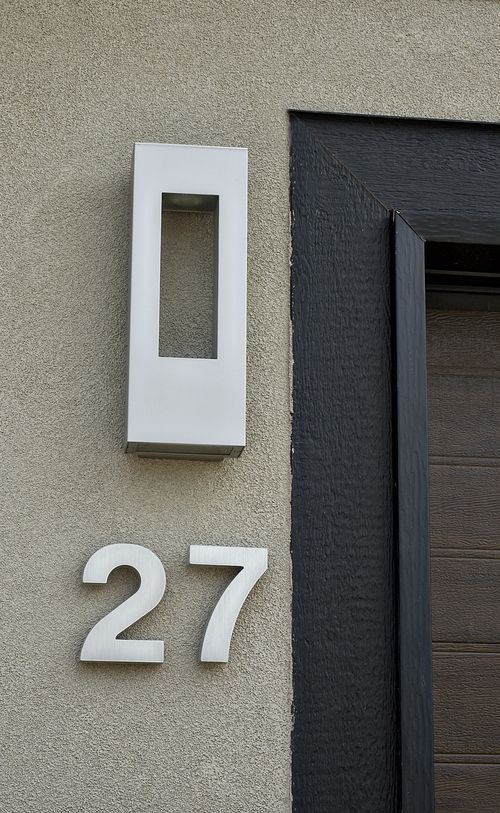 House number1